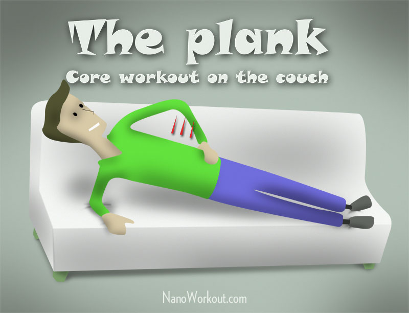 The Plank - Couchercise